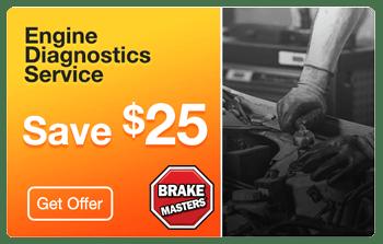 Brake Masters Phoenix Engine Diagnostics Coupon