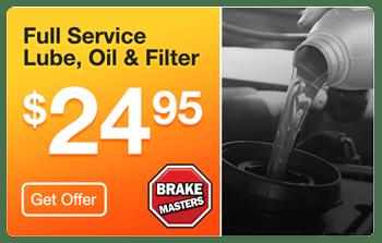 Brake Masters Phoenix Full Service Oil Change Coupon
