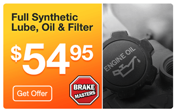 Brake Masters Sacramento Full Synthetic Oil Change Coupon
